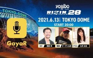 日本最高峰の格闘技イベント【RIZIN.28】生配信