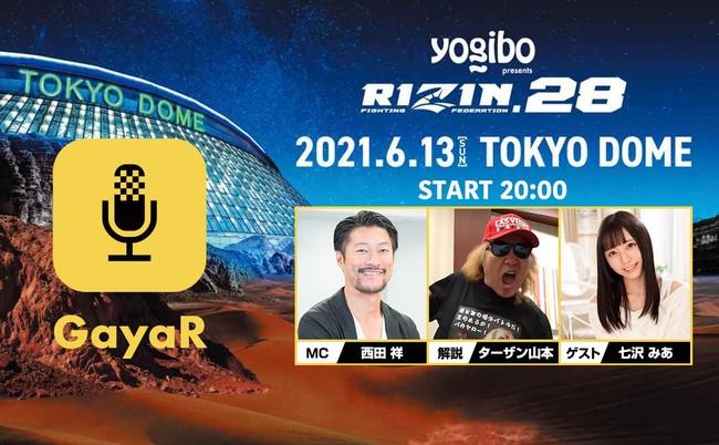 日本最高峰の格闘技イベント【RIZIN.28】