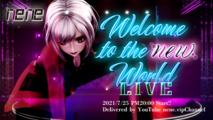 Welcome to the new world LIVE