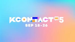 Kカルチャーオンラインフェスティバル「KCON:TACT HI 5」