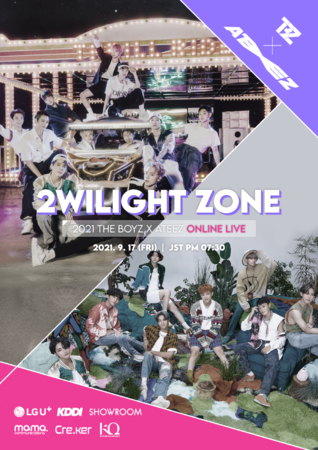 2021 THE BOYZ × ATEEZ ONLINE LIVE: 2WILIGHT ZONE
