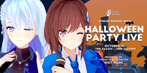 RIOT MUSIC HalloweenParty 2021